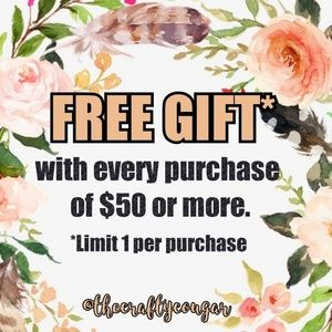 Other - FREE GIFT with purchase of $50 or more.